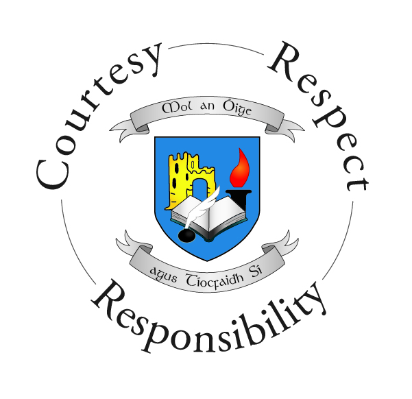 CCC Crest - Courtesy, Respect, Responsibility