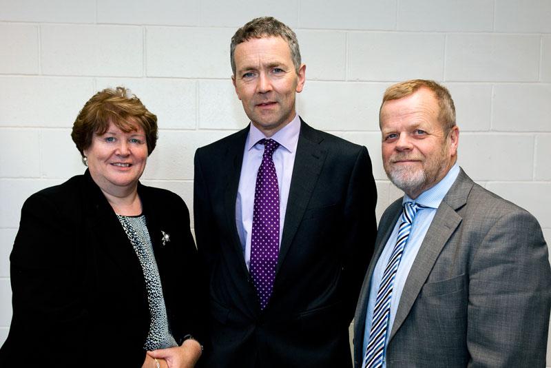Castleknock Community Collge - Principal and Deputy Principals