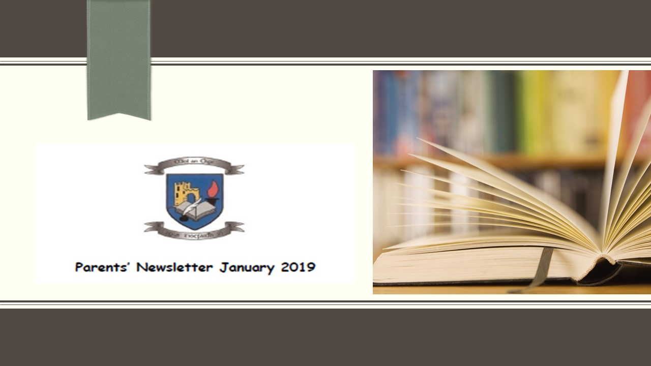 Parents Newsletter 2019