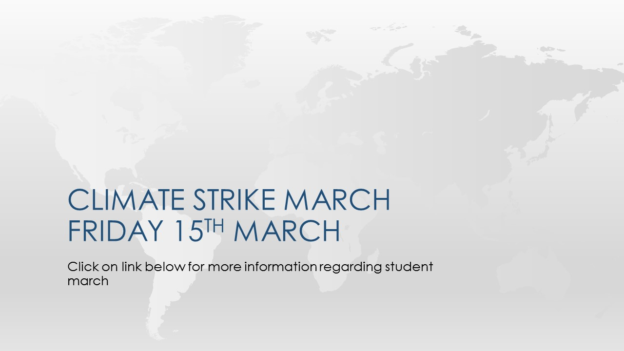 Climate Strike March Friday 15th March 2019