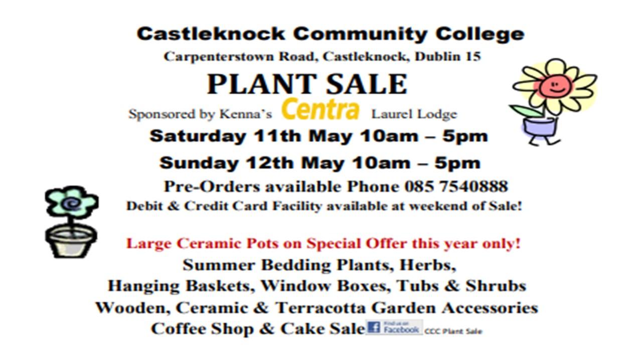 CCC Plant Sale 2019
