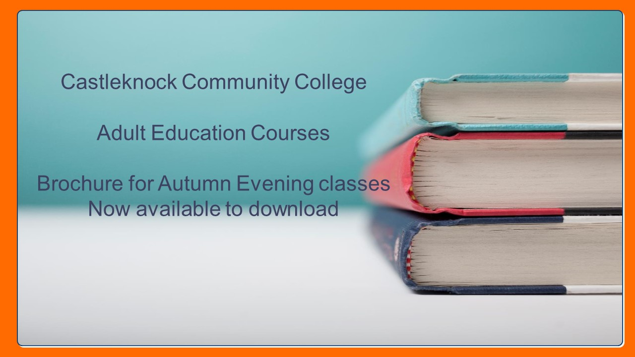 Adult Education Evening Classes Autumn 2019