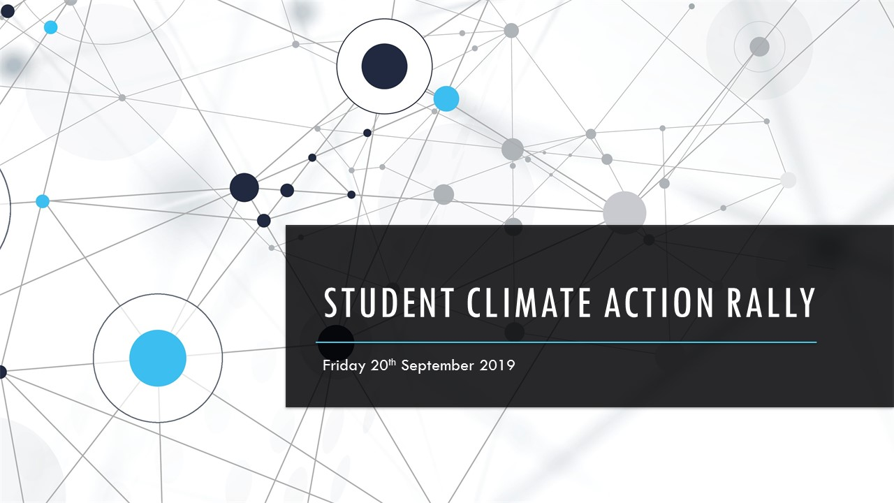 Student Climate Change Action Rally 2019