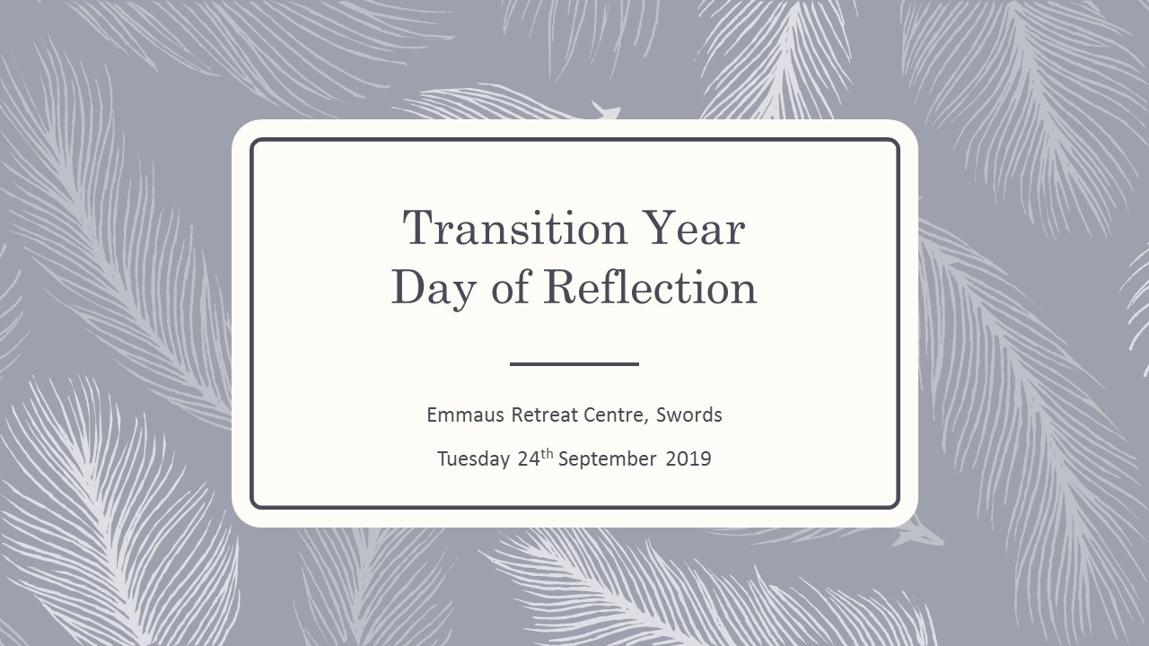 Transition Year Day of Reflection 2019