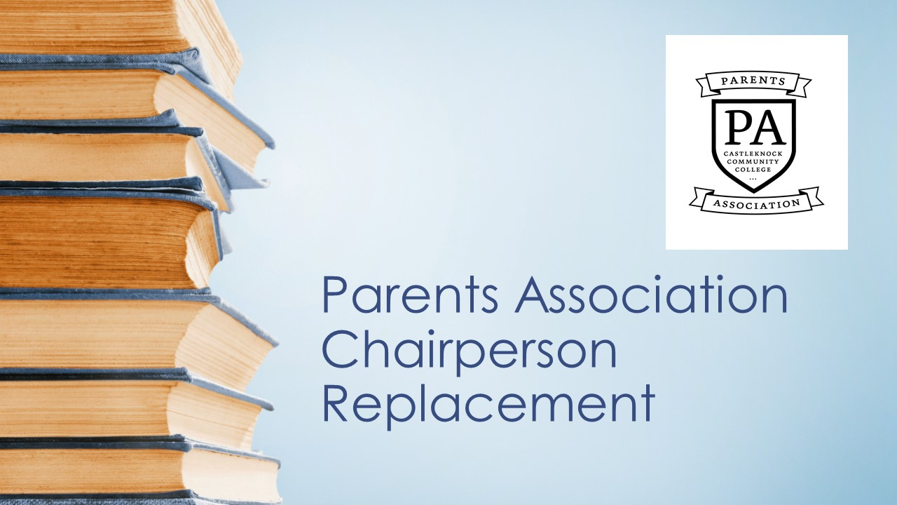Parents Association Chairperson Replacement 2019