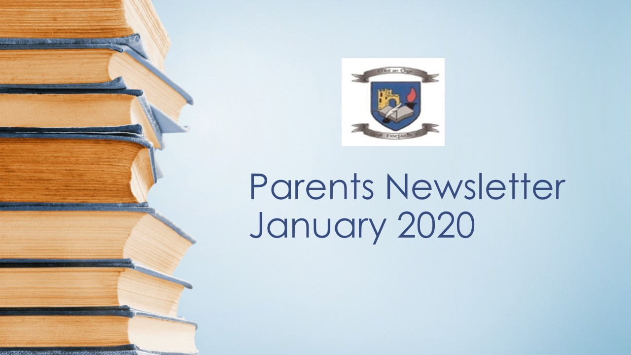 Parents' Newsletter January 2020