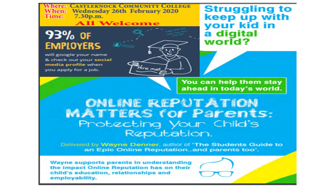 Internet leaflet
