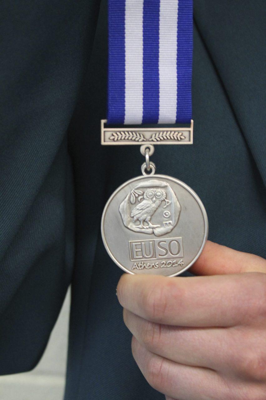 EUSO Silver Medalist